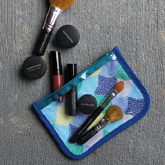 Make A Vinyl & FabricCosmetic Pouch