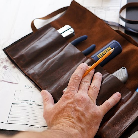 Leather Tool Roll DIY
