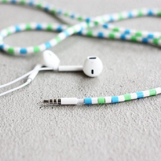 DIY Hama Bead Earphones