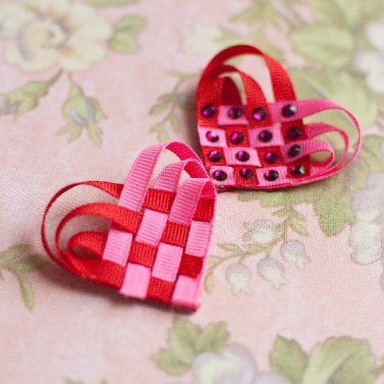 Woven Ribbon Heart Tutorial