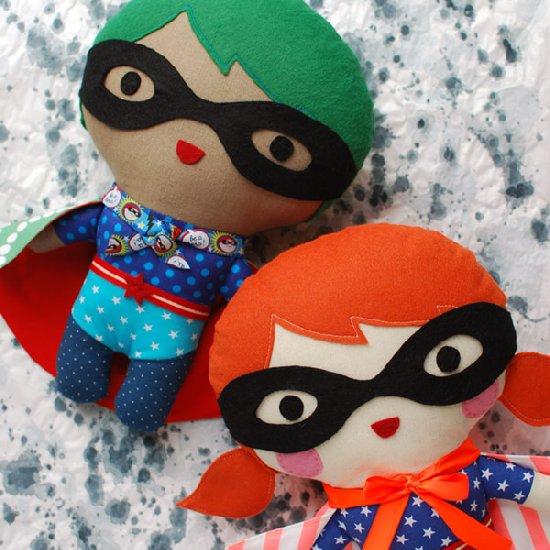 Make a Superhero Soft Toy