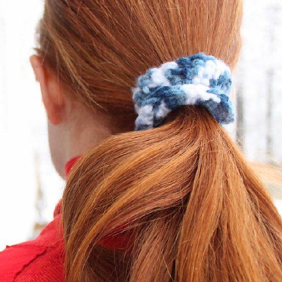 DIY Crochet Hair Ties