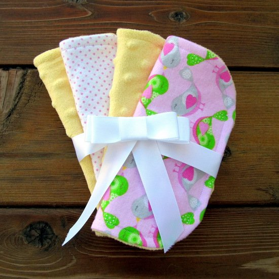 Mini Baby Burp Cloths