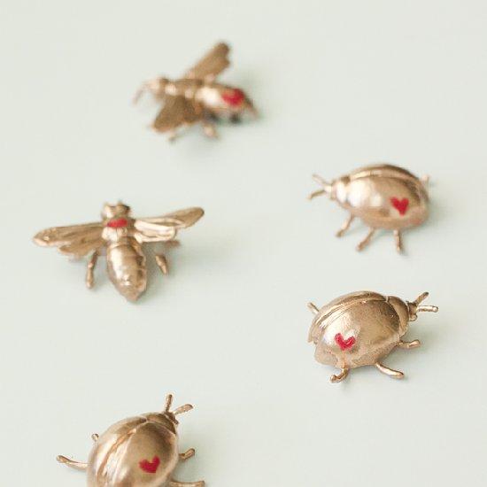 DIY Love Bug Pins