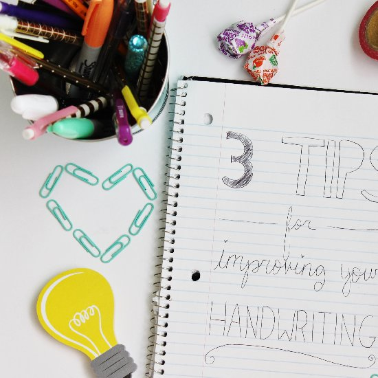 Tips for Improving your Handwriting