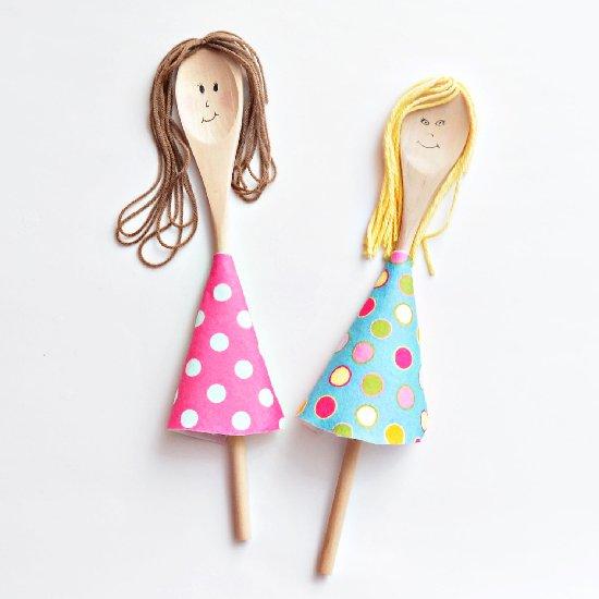 wooden ice cream spoon craft ideas 1