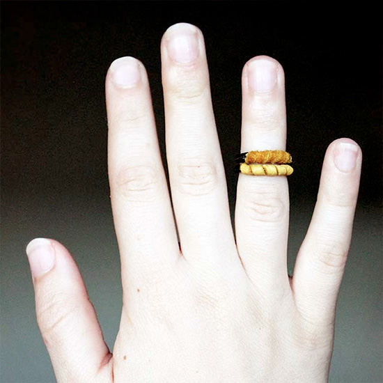 DIY Leather Rings
