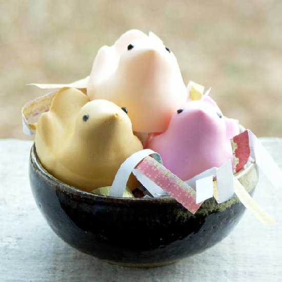 DIY Easter Peeps Soap Tutorial