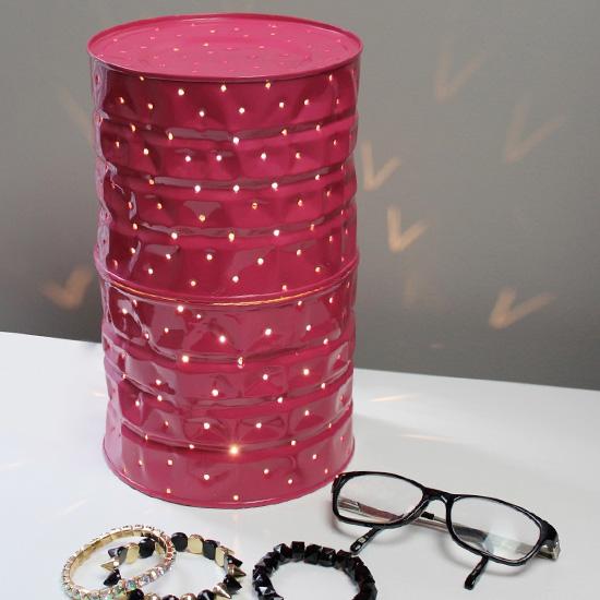 Tin Can Lamp