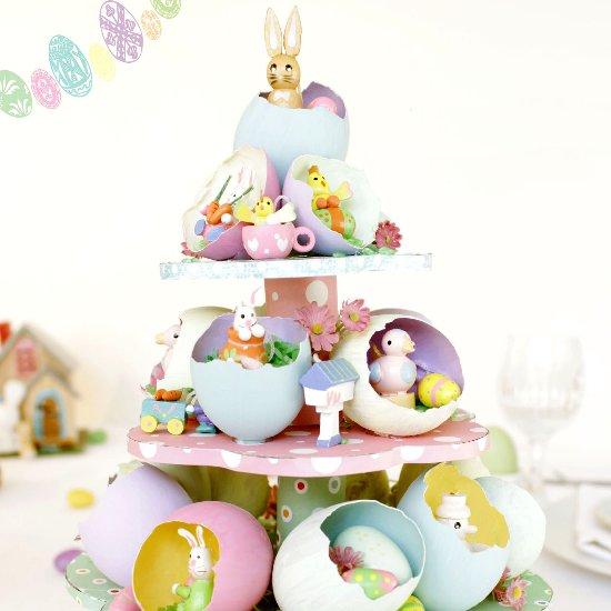Easter egg tree centerpiece