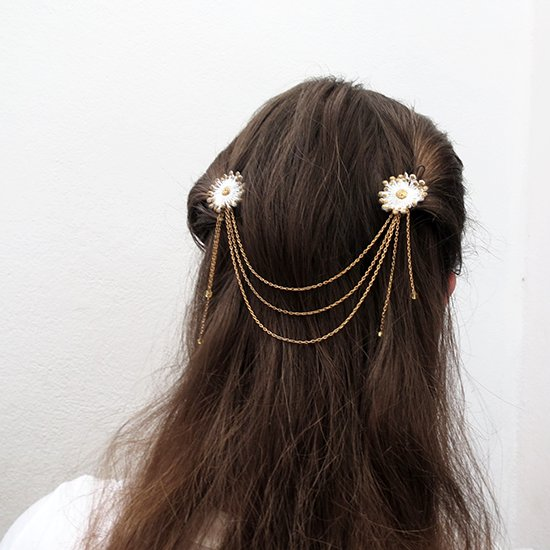 DIY Hair Jewelry