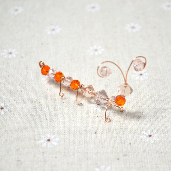 Easy Ant Craft with Beads