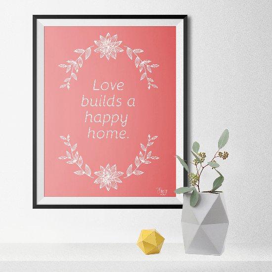 Freebie: Home Decor Poster