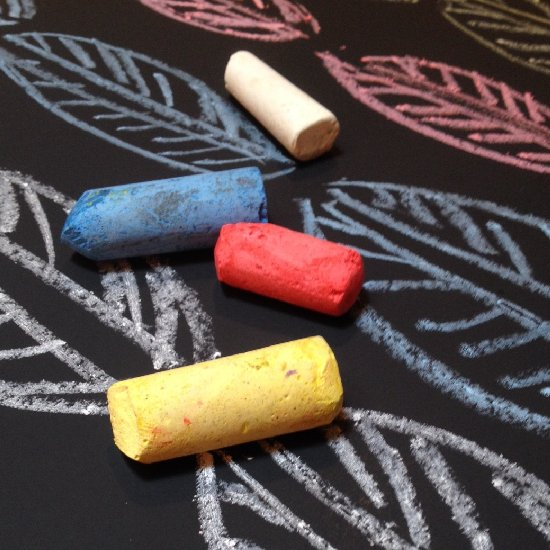 DIY Sugar Chalk