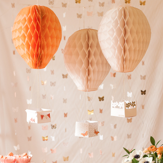 Hot Air Balloon Decorations Diy Images