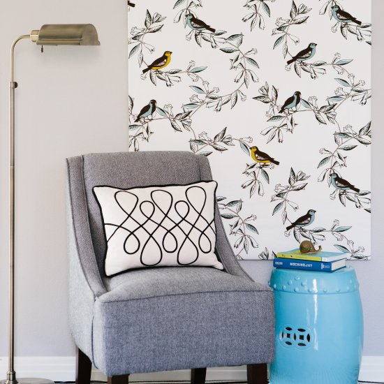 Fabric Canvas Wall Art