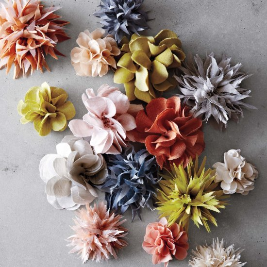 Gorgeous Fabric Flower Tutorial
