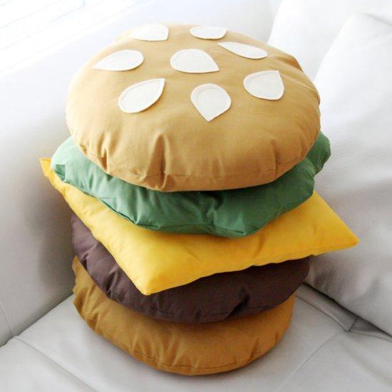 Stackable Burger Pillow