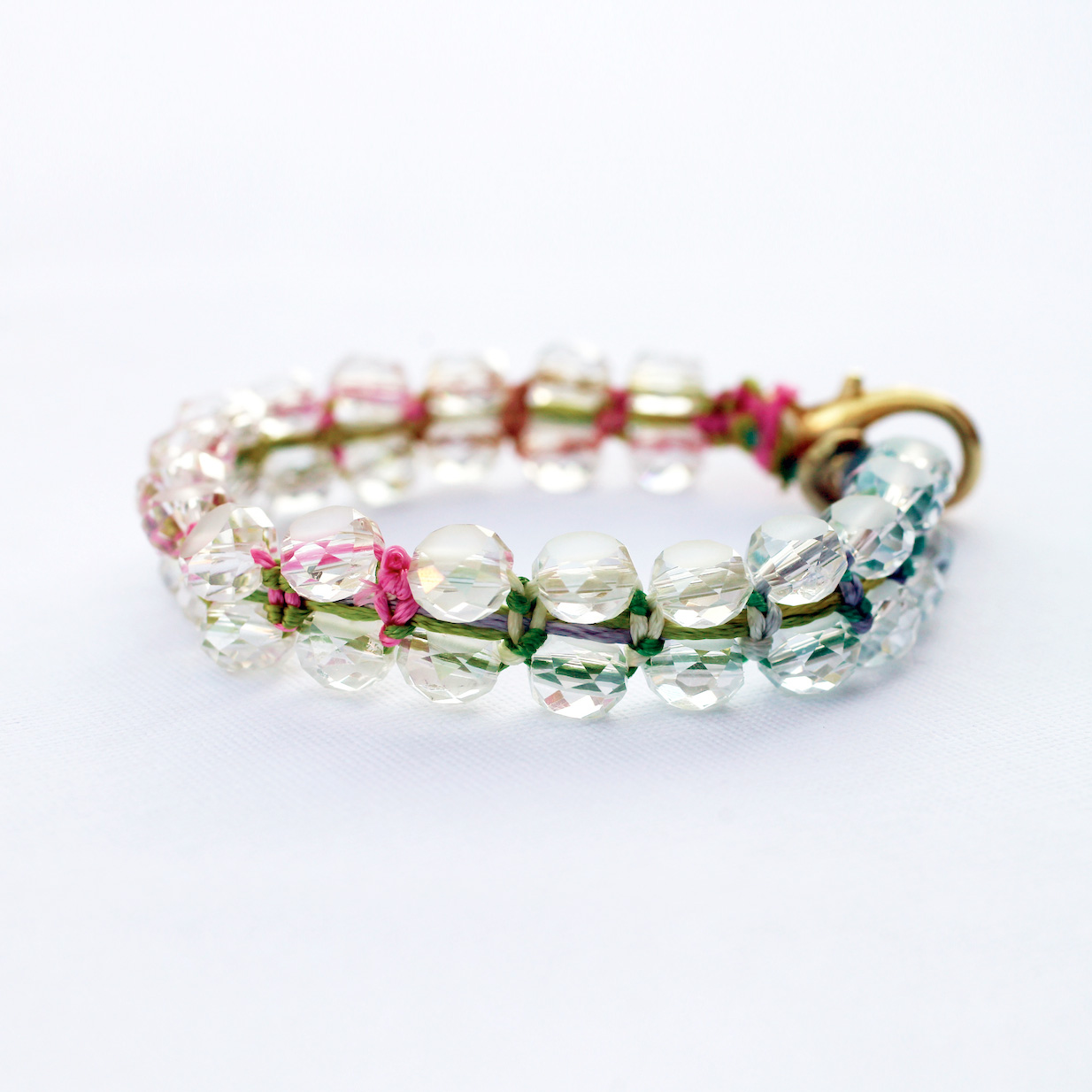 Anthro-Inspired Colorful Bracelet