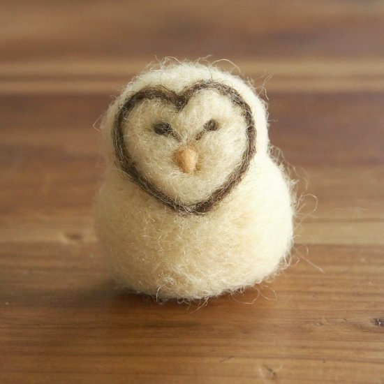 Tutorial : Needle Felted Barn Owl