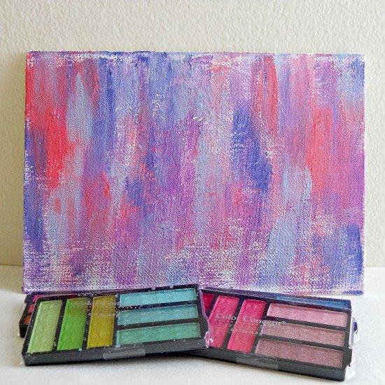 Eyeshadow To Paint DIY