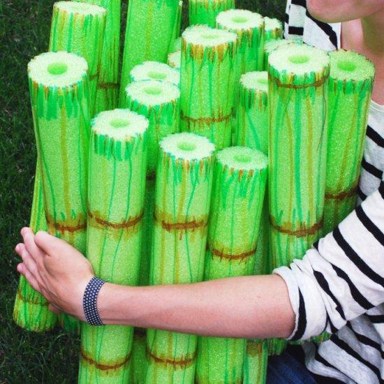 Bamboo stacking game craft gawker bloglovin for Crafts using bamboo