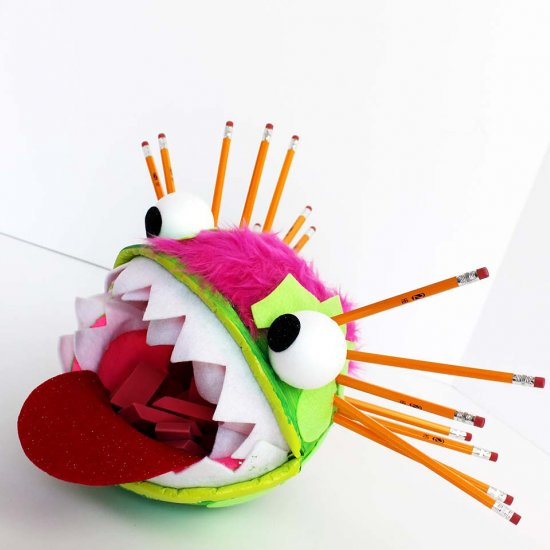 Monster Pencil Caddy