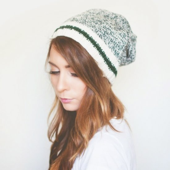No-Sew Beanie from Sweater