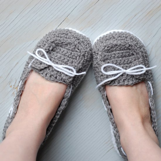 Crochet Women Slippers - Accessories, Adult Crochet Slippers, Home