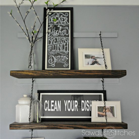 Chain Suspended Shelving