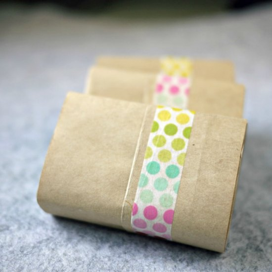 DIY Soap Bar Wrapper