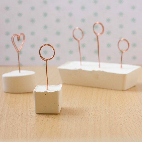 DIY Wire Note Holders