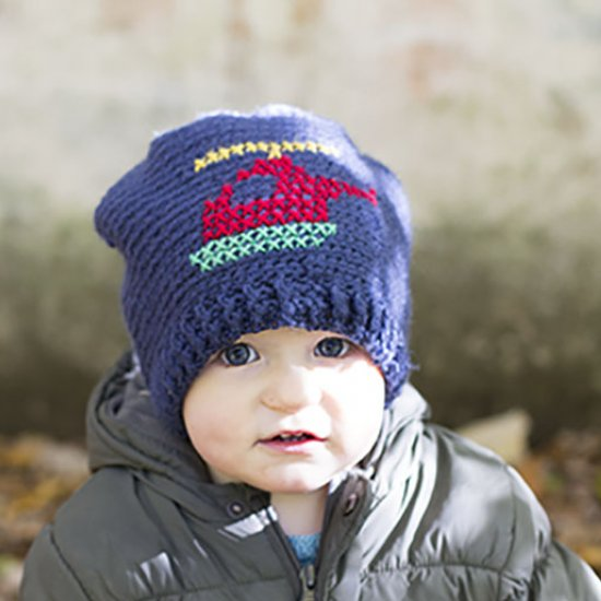 Helicopter Slouchy Beanie