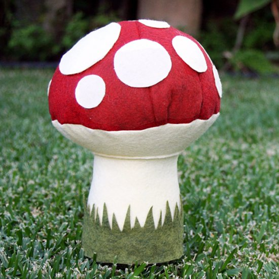 Plush Toadstool