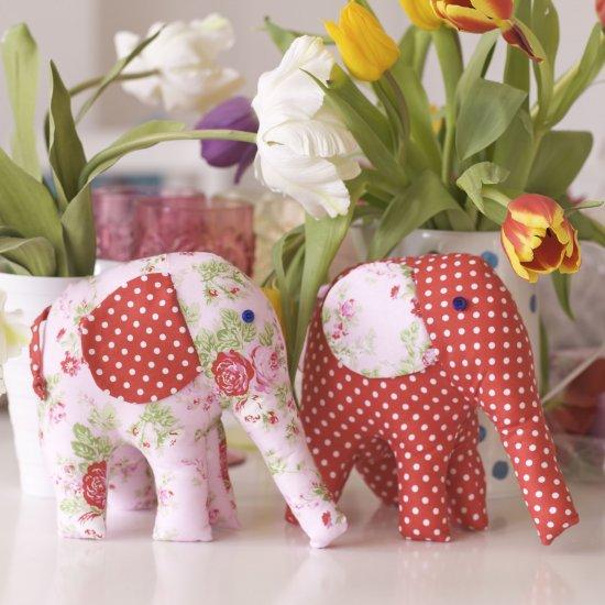 Pretty Elephant Toy Sewing Pattern