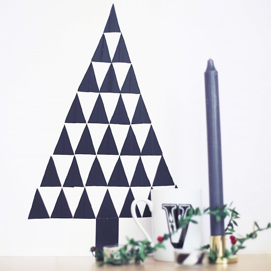 DIY Wall Decal Christmas Tree