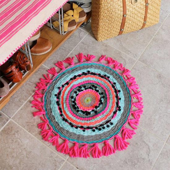 Woven Circle Mat DIY