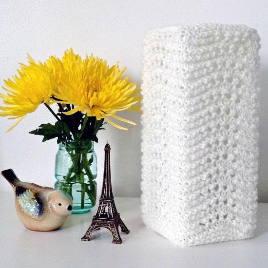 Knit Lamp Shades