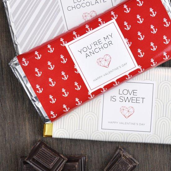 Printable Chocolate Bar Wrappers