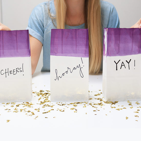 DIY Confetti Bags for Your Wedding