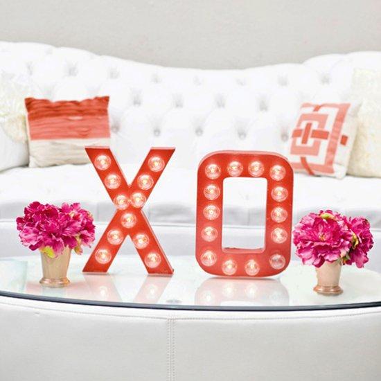 DIY XO Marquee Sign