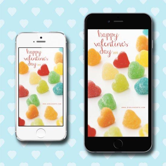 Candy Hearts Wallpaper Candy Hearts Wallpaper