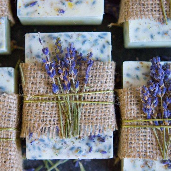 Goat Milk Lavender Honey Lemon Soap