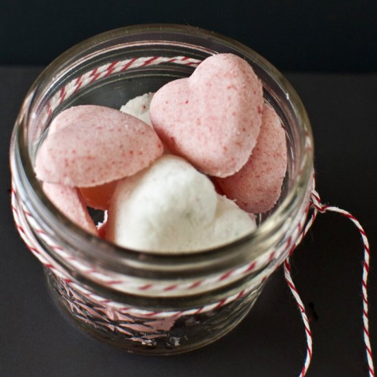 Valentine's Day Heart Bath Bombs