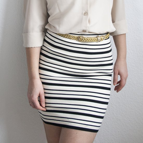 Sweater Into Pencil Skirt