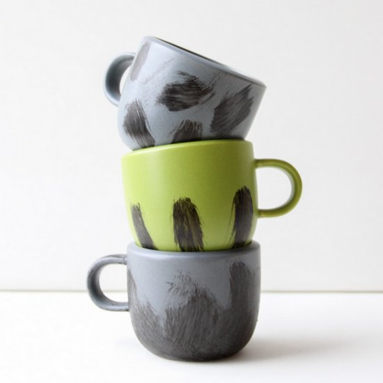 Dressed Up Store-Bought Mugs