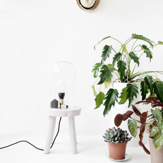 DIY Lamp Stool