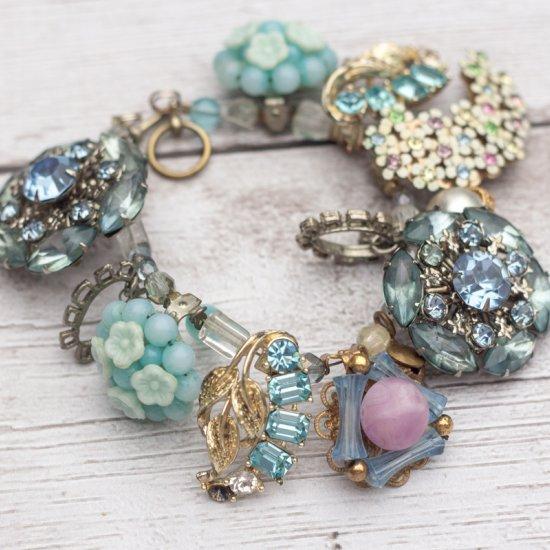 Vintage Earring Bangle Bracelet