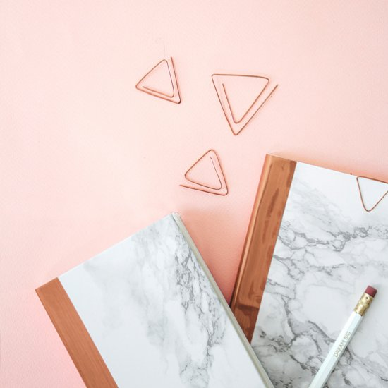 DIY Copper & Marble Stationery