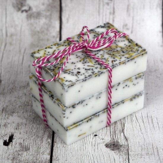 Homemade Rosemary Mint Soap